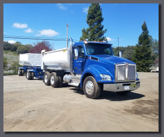 New Kenworth T800 transfer dump