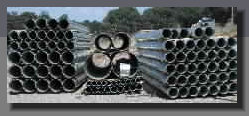 Large selection of culvert